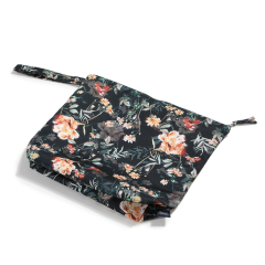 LA MILLOU Travel bag XL Blooming Boutique Noir 28 x 32cm