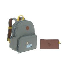 03a6e4066d24a Lassig Plecak z termoizolacyjną kieszenią i naklejkami Adventure Bus