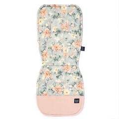 LA MILLOU Stroller Pad Blooming Boutique VC Powder Pink