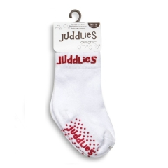 Juddlies Skarpetki White/Red 12-24 m