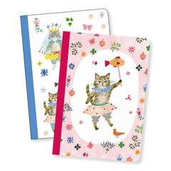 DJECO LOVELY PAPER Notes 2szt. AIKO