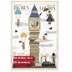 LONDJI Puzzle London Big Ben 200el