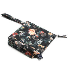 LA MILLOU Travel bag S Blooming Bouitique Noir 19,5 x 20cm