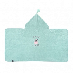 LA MILLOU Ręcznik bambusowy M Bamboo Soft Kid Doggy Unicorn Mint