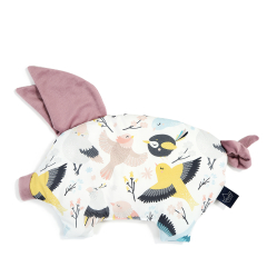 LA MILLOU Poduszka świnka Sleepy Pig Cute Birds French Lavender