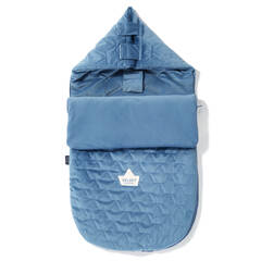 LA MILLOU Velvet Collection Stroller Bag S Śpiworek Denim
