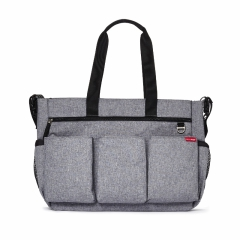 Skip Hop Torba Double Signature Heather Grey
