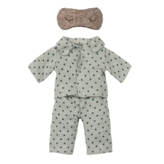 MAILEG Ubranko dla myszki - Pyjamas for dad mouse