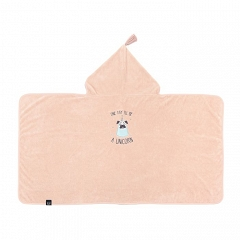 LA MILLOU Ręcznik bambusowy M Bamboo Soft Kid Doggy Unicorn Powder Pink