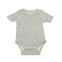 Juddlies Body Light Grey Fleck 18-24 m