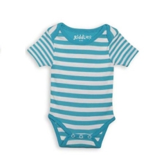 Juddlies Body Blue Stripe 12-18m