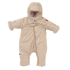 Red Castle Kombinezon zimowy Combi T-ZIP 6-12m Heather Beige