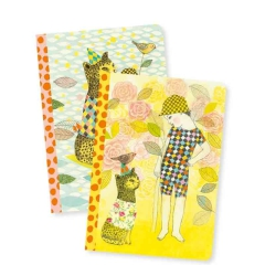 DJECO LOVELY PAPER Notes 2szt. Elodie