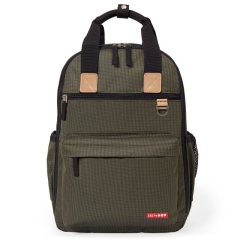 Skip Hop Plecak Duo Signature Olive Mini Grid