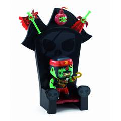 Djeco Figurka pirata Kyle & ze throne 4l+