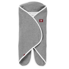 Red Castle Otulacz rożek Babynomade 0-6m Double Fleece Light grey/ White